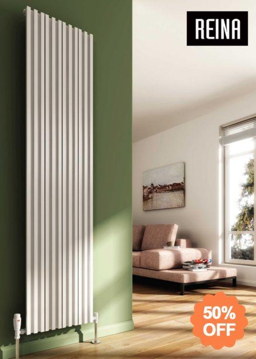 SALE: Reina Quadral Vertical Aluminium Radiator