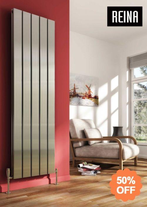 SALE: Reina Stadia Vertical Aluminium Radiator