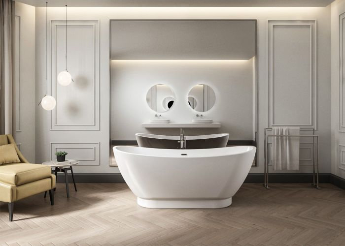 Image of Charlotte Edwards Richmond Bath in Gloss White