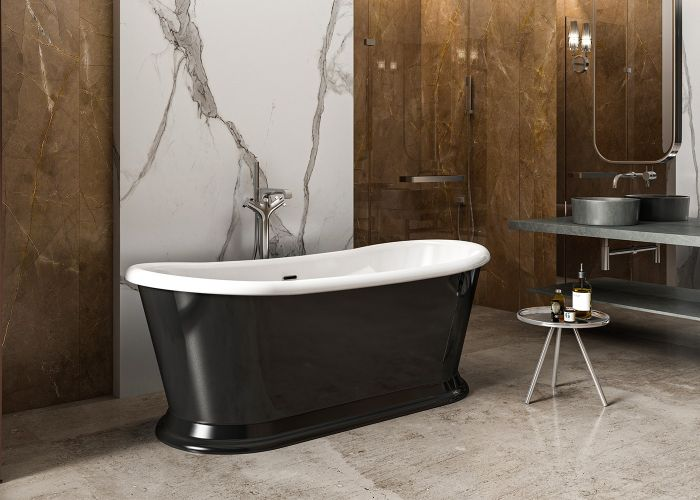 Image of Charlotte Edwards Richmond Bath in Gloss Black