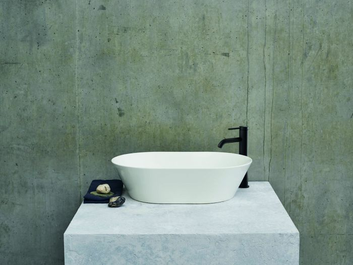 Clearwater - Sontuoso Basin Gloss White - 350mm x 550mm