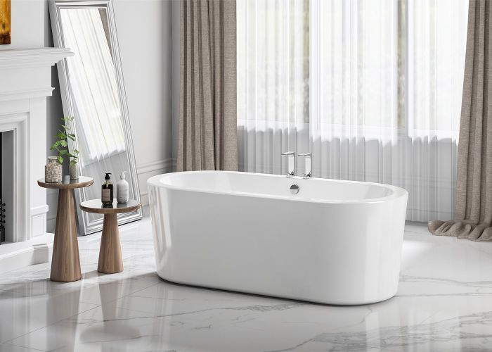 Image of Charlotte Edwards Strand Bath in Gloss White