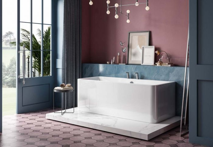 Image of Charlotte Edwards Stratford Bath in Gloss White