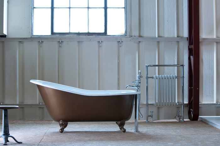 Arroll Bordeaux Cast Iron Bath - 1700mm x 780mm