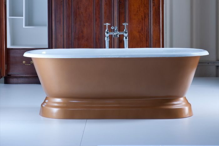 Arroll - Chaumont Cast Iron Bath - 1700mm x 770mm