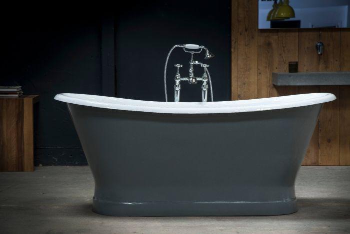 Arroll - Lyon Cast Iron Bath - 1700mm x 720mm