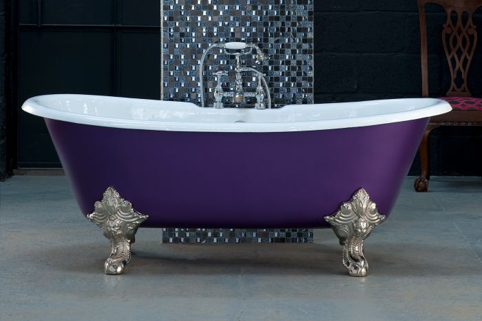 Arroll - Milan Cast Iron Bath - 1800mm x 790mm