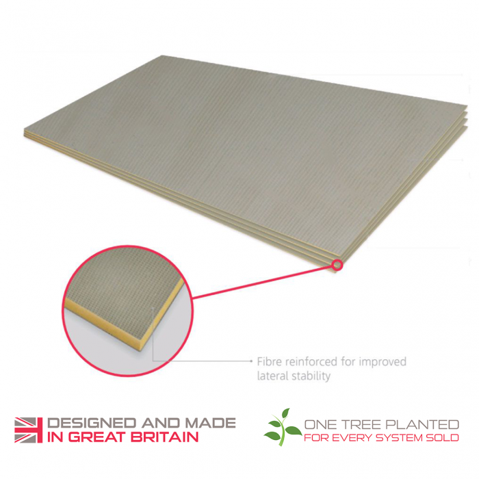 ThermoSphere  Coated Insulation Boards For Timber Substrates