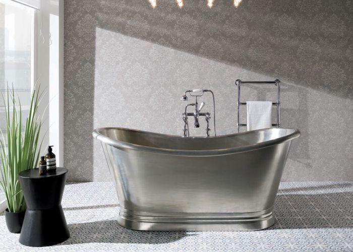 BC Designs Tin Freestanding Boat Bath - 1700mm x 725mm