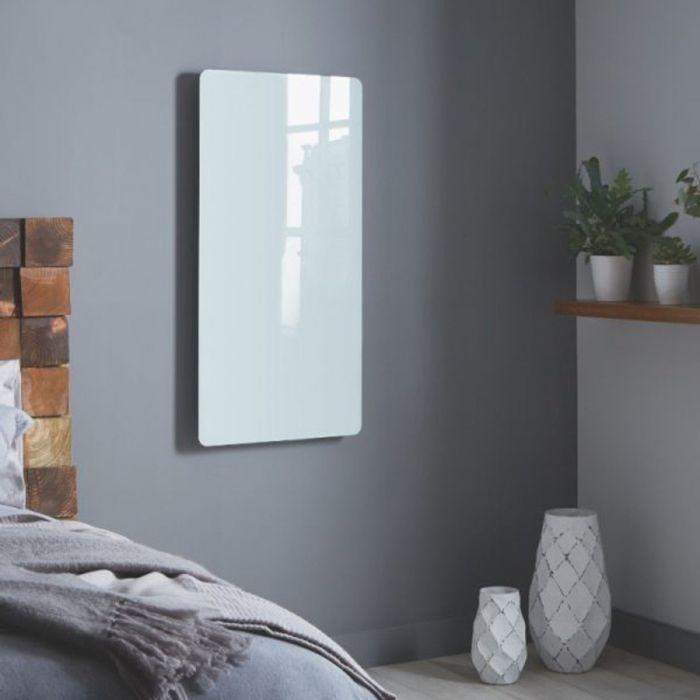 Towelrads Vetro Frame Glass Electric Vertical Radiator
