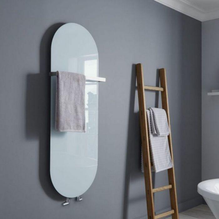 Towelrads Vetro Soap Glass Vertical Radiator