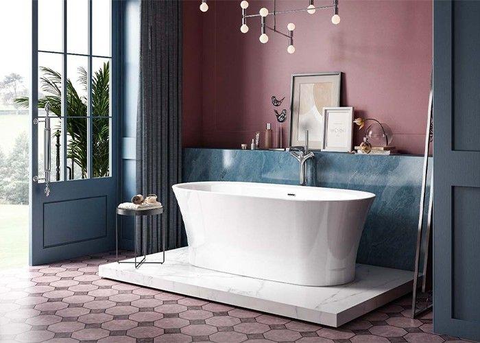 Image of Charlotte Edwards Luna Bath in Gloss White