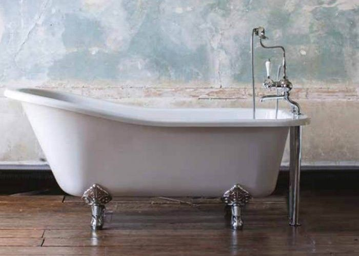 Burlington - Harewood Slipper Bath White - 1690mm x 730mm