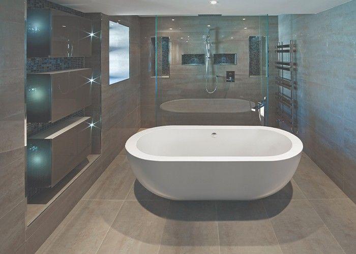 BC Designs Ovali - Acrymite® - 1805mm x 850mm
