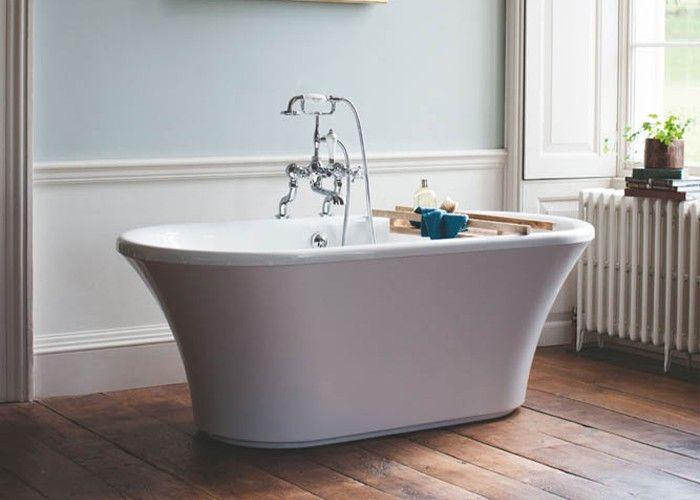 Burlington - Brindley Double Ended Bath White - 1700mm x 750mm