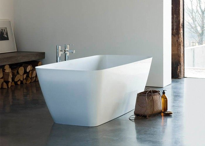 Clearwater Vicenza Petite - Gloss White - 1524mm x 800mm