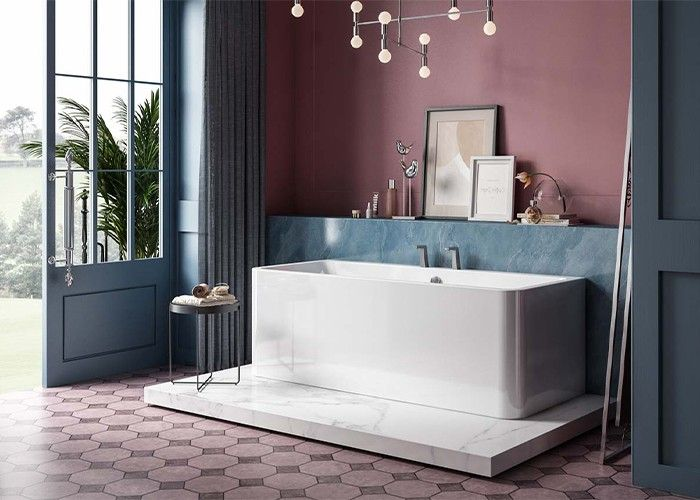 Image of Charlotte Edwards Stratford Bath in Gloss White