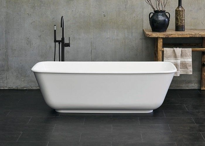 Clearwater Nuvola - Gloss White - 1700mm - 750mm