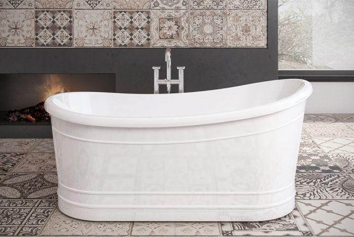 Royce Morgan - Harewood Slipper Bath - 1650mm x 730mm
