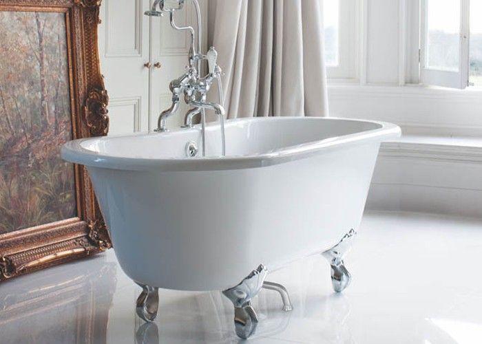 Burlington - Windsor Double Ended Bath White - 1700mm x 750mm