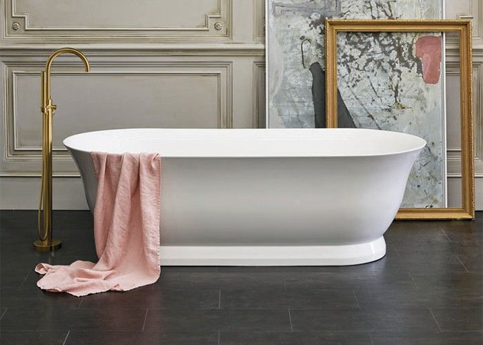 Clearwater Florenza - Gloss White - 1828mm x 864mm