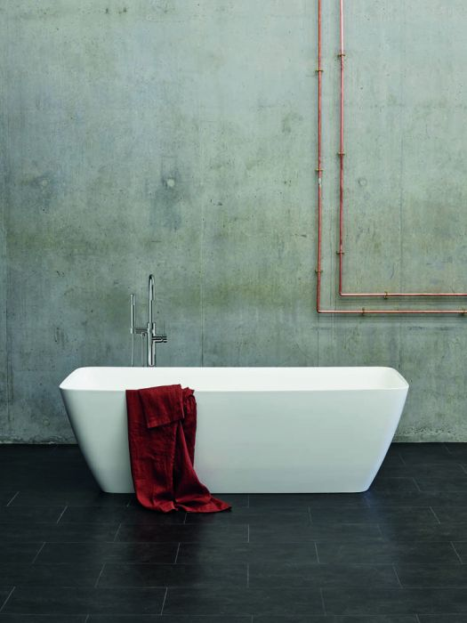 Clearwater Vicenza Grande - Gloss White - 1800mm x 800mm
