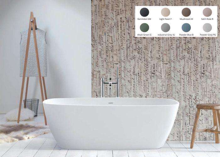 BC Designs Vive Freestanding Bath - 1610mm x 750mm