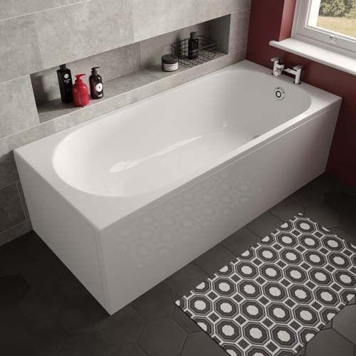 Lux Bath - Arnold Single Ended Bath - 1680mm x 685mm